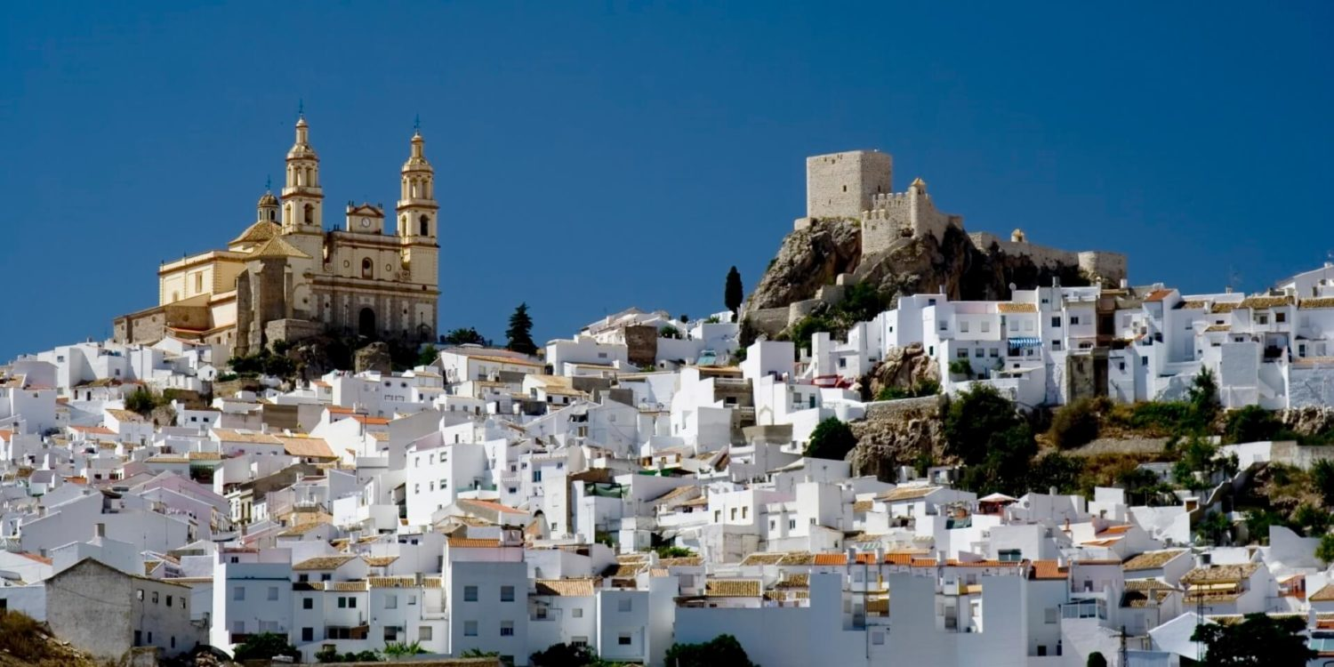 spain Medieval White Village slider