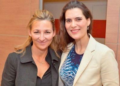 Andrea Brodtmann und Janna-Lena Baierle