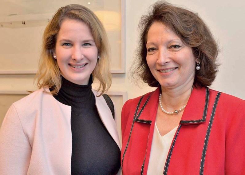 Christine Detmers und Dr. Angelika Dammann