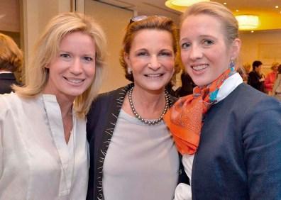 Katja Kleffmann, Barbara Kunst und Caroline Freisfeld