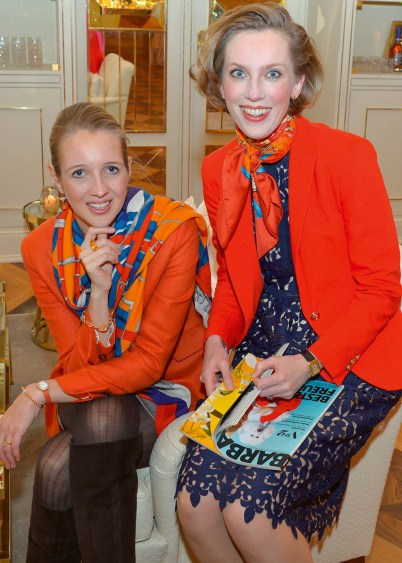 Caroline Freisfeld und Frauke von Reitzenstein