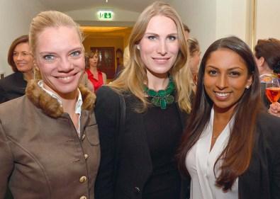 Katharina Wittenber, Estelle Rytterborg und Mathilda Karlsson