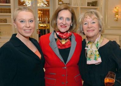 Kristin Polzin, Birgit Saatrübe-Möllers und Ursula Kaiser