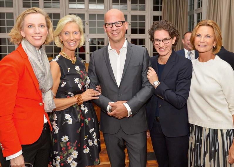 Frauke v. Reitzenstein, Kristina Tröger, NN, Kathleen Nufer, Barbara Kunst