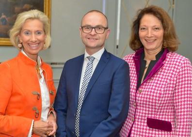 Kristina Tröger, Alexander Kühnen und Dr. Angelika Dammann