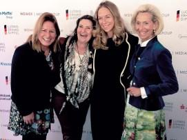 CeU Mitglieder: Stefanie Schulze, Smile care, Christiane Goetz-Weimer, Gwendolyn Freifrau von Beck-Peccoz- Brauerei Kühbach, Kristina Tröger