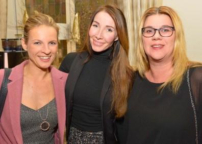 Sabine Behm, Line Luciole und Claudia Schultz