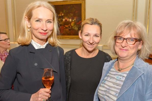 Designerinnen Dagmar Löwe, Andrea Brodtmann, Alexandra Everding, GF Freunde der Symphoniker HH