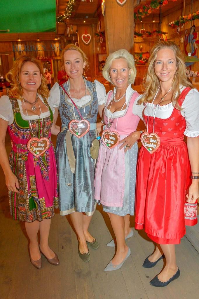 Stefanie Schulze smilecare,Petra Winter Chefred. MADAME, Kristina Tröger CeU-Präsidentin Gwendolyn Frfr. von Beck-Peccoz Brauerei Kühbach