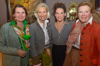 Christiane Goetz-Weimer Weimer Media Group, Kristina Tröger Präsidentin CeU, Bibiana Beglau Schauspielerin, Brigitte Meier Ed.Meier