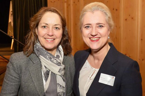 Kirstin Hegner-Cordes UnternehmerTUM, Dr. Angela Titzrath CEO HHLA AG