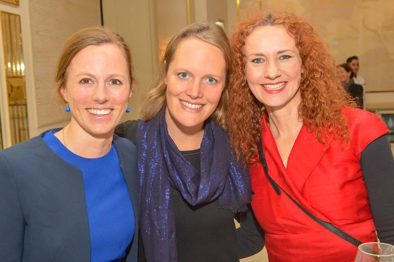 Susanne Luft CPH Baumanagement, Claudia Vogel Radio Marketing Service, Steffi Oesterwind Sakura Spa