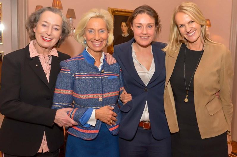 Nane Mundt Markenexpertin, Kristina Tröger CeU-Präsidentin, Katja Kraus Jung von Matt - sports, Astrid Schulte Berendsohn AG