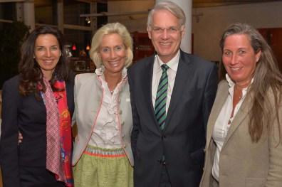 Clarissa Käfer Käfer AG, Kristina Tröger CeU-Präsidentin, Dr. Georg Mecke Airbus Standortleitung, Nicole Unger NCU Immobilien