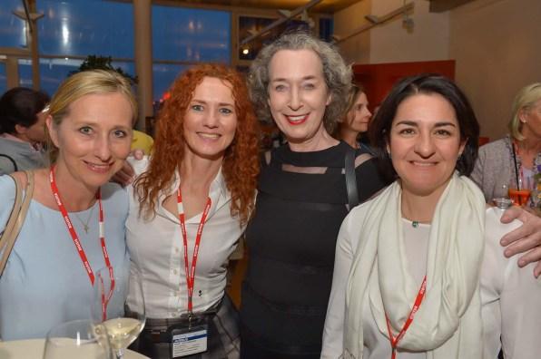 Dr. Meike van Hooren Pfizer, Steffi Oesterwind Sakura Spa, Nane Mundt Markenexpertin, Nina Scharlau