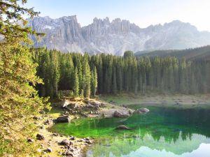 Der Karersee/ Lago di Carezza