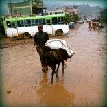 Unterwegs in der Regenzeit