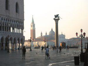 Auf der Piazzetta San Marco