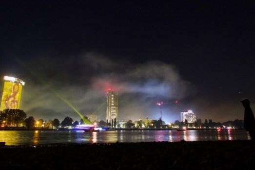"""Party auf einem Schiff bei """"Rhein in Flammen"""""""