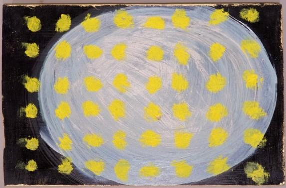 Ein Fundstück mit Gelb und Grau