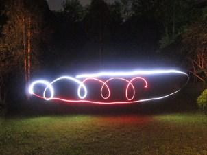 Lichtspiele im Garten 1