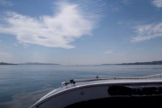 Überlingen - Im Tretboot auf dem Bodensee