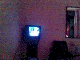 TV @ night in Mumbai