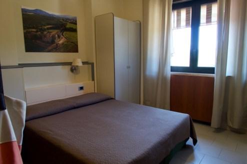 Siena, Italien - Hotelzimmer für 4, (links ist noch ein Etagenbett)