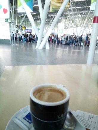 SCQ - ein Kaffee vor dem Abflug