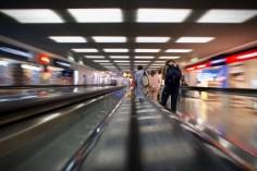 Im Transit am Frankfurter Flughafen