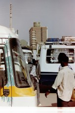 Sudan - Unterwegs auf einer verstopften Straße in Khartum