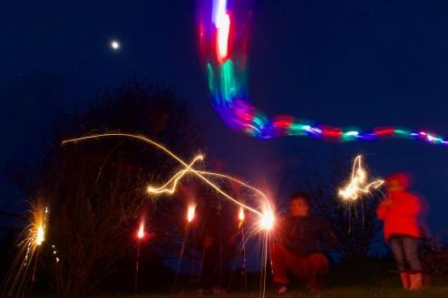 Lichtspiele im Garten 2
