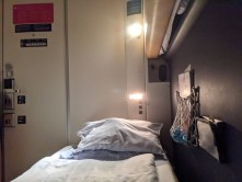 Venedig - Gemütliches Einzelabteil im Schlafwagen nach München