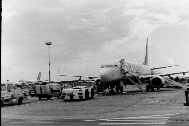 SXF - Flughafen Berlin Schönefeld, fotografiert mit meiner Zorki4K