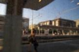 Rom - aus dem Fiumicino Express unterwegs zum Flughafen