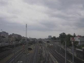 Gleise in Wien