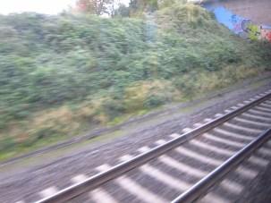 Bonn - unterwegs nach Köln in der RE5, mein täglicher Zug zur Uni