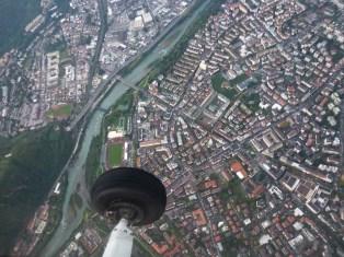 BZO - Mit der Cessna über Bozen