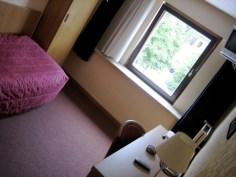 Luxemburg, ein kleines Hotelzimmer