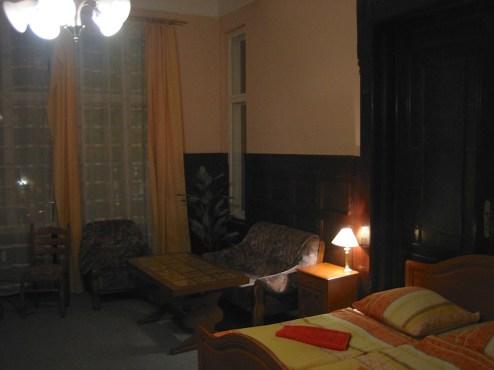 Mein größtes Hotelzimmer, leider nur für eine Nacht in Berlin