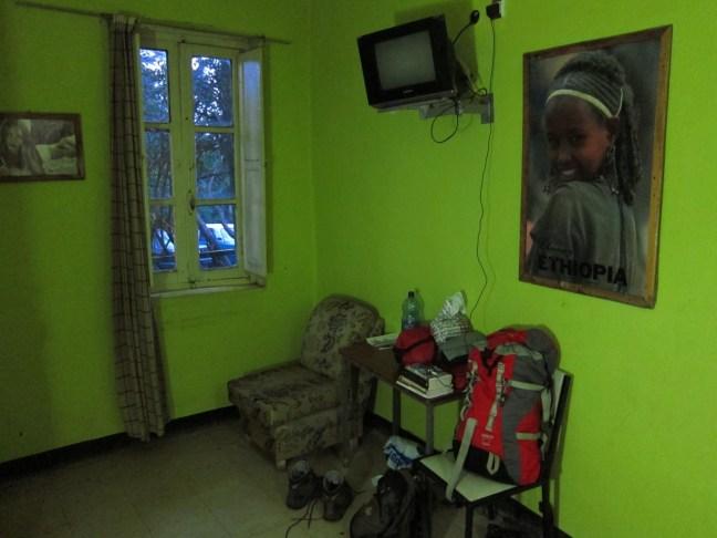 Hotelzimmer in Addis, Äthiopien