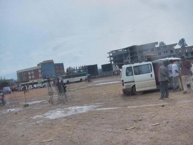Am Busbahnhof in Jimma, Äthiopien