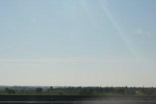 Auf der Autobahn in Norditalien