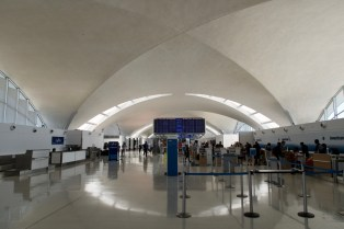 STL - Check-In Halle am Flughafen von St. Louis