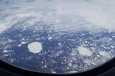 LH 430 - Eisschollen im Nordpolarmeer auf dem Flug von Frankfurt nach Chicago
