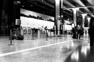 BLR - Check-in am Kempegowda International Airport Bengaluru / Flughafen in Bangalore