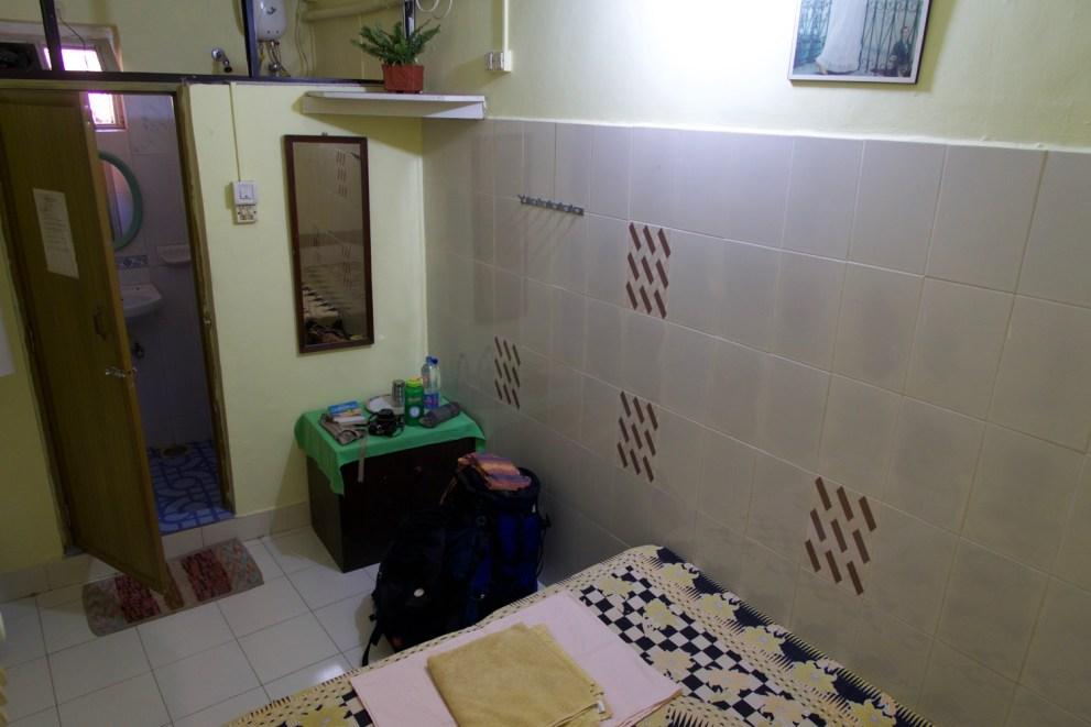 Panjim - Einfaches aber sehr sauberes Gästezimmer in Panjim, Goa