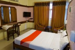 Bangalore - Zimmer in einem Stadthotel an der Church Street, mitten im Zentrum