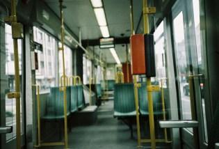 Bonn - Stadtbahn im Sommer 2020, früh morgens