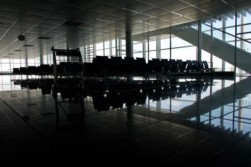 Warten in München, Terminal 2